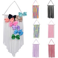 Baby Hair Bow Holder Hanger Girls Hairs Clips Storage Organizer Hairwear Belt Kids Tapestries Hair Accessories Z1988