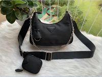 Deidegerer Umhängetasche für Frauen Brust Pack Lady Tote Ketten Handtaschen Presbyopic Geldbörse Messenger Bag Designer Handtaschen Leinwand Großhandel