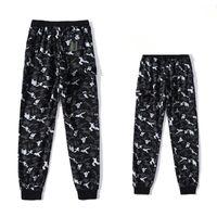 2021 Casual Pantolon erkek Gevşek Moda Marka Çift Giysi Yaz Ultra-ince Öğrenci Tayt Tulumları