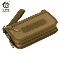 Wallets Tactical Wallet Men's Handbag Passport Travel Bag Camouflage 6-inch Mobile Men Phone