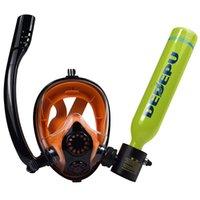 Equipo de buceo Conjunto de engranajes gratis Cilindro Dedepu Snorkel Productos de snorkeling Entretenimiento al aire libre Mini buceo Dinging Air Tank Kit