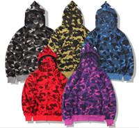 Kausal Herren Mit Kapuze Jacken Unisex Camouflage Hoodies Frauen Männer Camo Mäntel Hip Hop Streetwear Ehear Jackets JK009