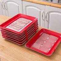 Organisation de stockage de cuisine Réfrigérateur de plateau de frais de recouvrement sous vide peut être utilisé pour des viandes pliables, des légumes et des aliments fruitiers