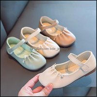 Flat Baby, & Maternityspring Kids White Princess Children Baby Girls Sweet Casual Soft Bottom Korean Sneakers Wedding Dance Leather Shoes Dr