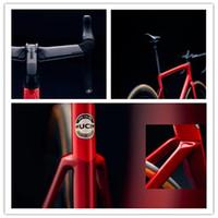 2021 Yeni Üst Seviye SL7 Yol Bisiklet Karbon Çerçeve Çin Süper Aero Ve Hafif Yol Çerçevesi UCI En Hızlı Yarış Bisiklet Çerçevesi