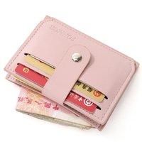 Portefeuilles Petites Femmes Porte-monnaie en cuir Made Portefeuille avec porte-monnaie Porte-monnaie Sac d'argent pour le titulaire de la carte de l'homme