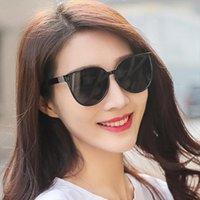 Moda senhoras óculos de sol High end retro clássico marca Design Mens UV400 Oval Condução óculos