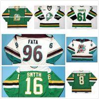 Kundenspezifische Herren Womens Kids Individuell anpassen OHL London Ritter Jersey 8 Jason Glover 61 John Tavares 96 Fata Hockey Günstige Trikots Goodit-Trikots