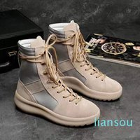 Yüksek Çizmeler En İyi Kalite Tanrı Korkusu Top Askeri Sneakers Hight Ordu Çizmeler Erkekler Ve Kadınlar Moda Ayakkabı Martin Çizmeler 38-45