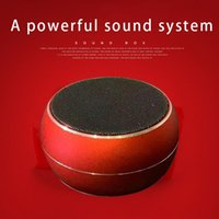 AI Outdoor portable Wireless Bluetooth speaker high volume sound mini plug in card car mounted small steel 3D surround home computer power subwoofer