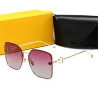 Nuevas gafas de sol de moda de lujo STELLAIRE STELLAIRE SUNGASES DE SOL UNISEX MODA MODA MUJER MUJER MUJER DESGANO Gafas de sol Gafas de sol UV Eyewear con caja