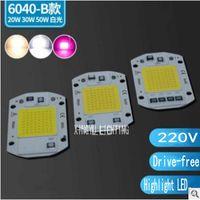 LED-Perlen-LED-Lampe AC220V Hochspannung Antriebsfreie Board High-Power Integrierte 20W30W50W Flutlichtstraße