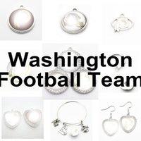 Football Team Washington Sport Charms Redskin Dangle Hanging Charms Bracelet Bracelet Bracelet Collier Bijoux Bijoux ACCESSIONS AMÉRIQUE