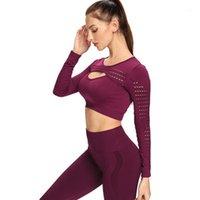 Нормов бесшовные йоги набор спортивный костюм женщин тренировки спортивный наряд фитнес набор носить высокий талию тренировки бесшовные тренировки одежда1