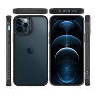 Premium Híbrido Transparente Acrílico TPU Bumper Casos de Telefone para Iphone 12 11 Pro Max mini XR X 8 7 6 Plus