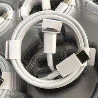 Cavo di ricarica rapida originale 1M / 3FT USB C PD TIPO DI CHARGING COMPUT AD 8PIN Cable Charger per iPhone 11 12 Pro Max 18W Adattatore 20W con imballaggio