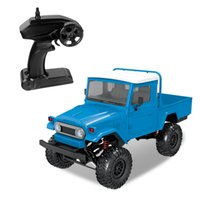 하드 코어 RC 자동차 RTR 1/12 스케일 2.4G 4WD RC 자동차 LED 가벼운 크롤러가 등반 소년 어린이 장난감을위한 오프로드 트럭