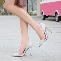Dress Shoes Odinokov Sequins Woman Pumps Wedding Bridal High Heels Pointed Toe Shallow Women Ladies Silver Elegant