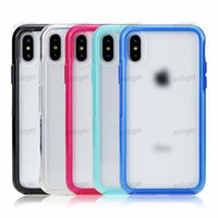 colorful Transparent Case Shockproof Hard PC Clear Phone Cases Back Cover For iPhone 11 Pro Max XR XS 7 8 Plus Samsung S20 S10 NOTE9