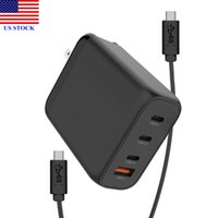 USB C Charger 120W 4- Port Wall Charger Laptop Charger with 1...