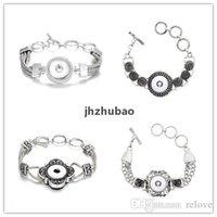 스냅 버튼 팔찌 맞는 18mm 버튼 Noosa Chunks Snap Bracelet Noosa 여성을위한 Snap Jewelry