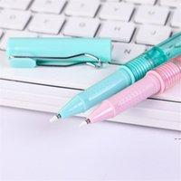 Novo 2-em-1 Spray Garrafas Pen 0.5mm Pena de Gel Líquido Preto para Escritório e Escola Pen preta HWF5164