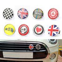 Carro 3D Metal Frente Grelha Emblema Emblema Adesivo Mini Cooper Acessórios Countryman ClubmanAccessórios Toda a versão