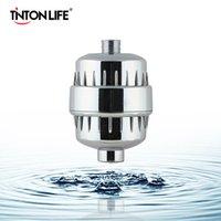 Bath Doccia Filtro Ammorbidente ClorineeAvy Metal Removal Acqua dura 5 10 fasi Purificatore filtro per la salute