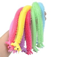 Adults Kids Fidget Sensory Toy Noodle Rope TPR Stress Reliev...