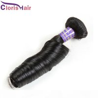 Новое поступление Малайзийское весенние вьющиеся волосы Feave Ali Moda Необработанные тетя Funmi Romance Curls Extensions 3 пакета