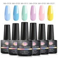 Nail Art Kits Gel Set Pure Color Polish Kit Manicure Hybrid Vernis Semi Permanent UV Soak Off Varnish LED