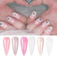 Glitter Nail art Kristallpulver dramatisch ändern Carving Colors Maniküre Nail art Set Salons Tauchen U9G5