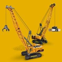 Simulation des Kindertechnik-Spielzeugs reißen Steinmaschinen-Holz-Grabkran-Jungen-Automodell-Geschenk