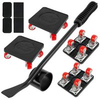 Professional Hand Tool Sets Furniture Lifter Mover Set 400KG Heavy Duty With Rotatable Caster Transport Kit