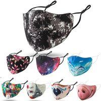 face mask adult space cotton dustproof breathable washable masks starry sky flower animal print adjustable facemask DWA7408