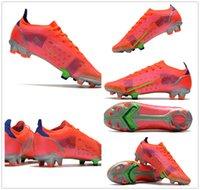 원래 망 축구 신발 Mercurial Superfly Xiv 엘리트 FG 축구 Cleats CR7 Neymar 축구 부츠 남성 Scarpe Calcio Size39-45
