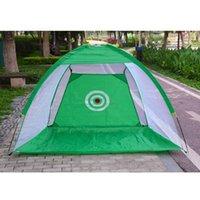 Внутренний / на открытом воздухе для гольфа СПИД портативный складной гольф, ударяющий клетку сада сад костюма практика сети