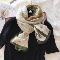 Spring polyvalent Hemp de coton d'automne pour la chaleur et la décoration longue de l'été coréen Écharpe foulard mince châle