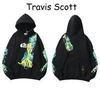 Travis Scott Fashion Headie à manches longues à capuche à capuche à capuche de sport pour femmes Sports Chemise Pullover manteau Trend manteau en vrac Mens et femmes