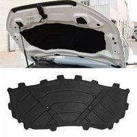 Pour Audi Q3 8U 2012-2018 Son isolant de chaleur de la voiture Coton de coton de coton de coton de coussin de pavé de patin de pad-cadnache de couvre-croûte noir accessoires
