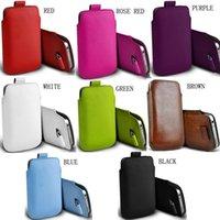 Pochettes de téléphone portable Casteel PU en cuir pour Wiko Y62 Tabouillon Taboufle Pouch Couverture