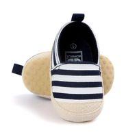 أول مشوا الربيع الصيف الخريف ولد طفل الفتيان الفتيات مخطط قماش أحذية جميلة مريحة جودة عالية ناعمة
