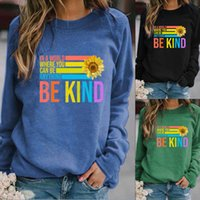 Europe and the United States autumn winter women's hoodie to holiday printed long-sleeve T-shirt as a feature, become new fashion three colors