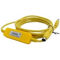 Conectores de Cabos de Áudio USB-SC09-FX PLC Cabo de Programação para Série FX
