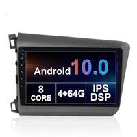 "Coche DVD Multimedia STEREO Screen Screen Audio DSP GPS Navegación Player NAV Head Unit for Honda Civic 2012-2015 9 ""Android"