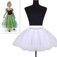 Accessoires de mariage Enfants Filles Petticoat Vestido Longue Jupe Crinoline Jupe Crinoline Jupes En Stock