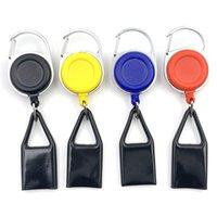 Disponibles Premium Colorido Caucho Encendedor Caja de Funda Plástico Encendedor LEASH Clip a Pantalones Pantalones Reel Reel Llavero Metal Titular del encendedor