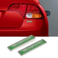 Car Styling Side Sticker for Saudi Arabian Flag Logo Emblem Badge Decals for Land Rover BMW Ferrari Hyundai Mazda Opel Lexus MG