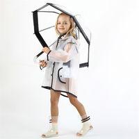 Celveroso Детская прозрачность водонепроницаемая дождь пальто полиэстер мальчики одежда мода плащ дети детские девочки куртка пальто Rainsut 548 y2