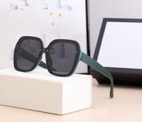 2021 مصمم الفاخرة الصيف نمط مزاجه النساء نظارات شمسية سوبر ضوء الأشعة فوق البنفسجية حماية fahion مختلط اللون يأتي مع مربع